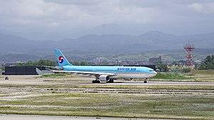Komatsu Airport - Korean Air Airbus A330-300 (2017)