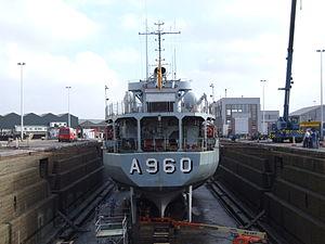 A960 in Drydock p6, Antwerp, Belgium.JPG
