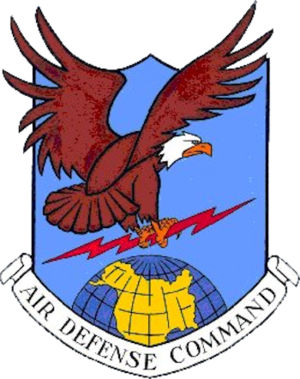 Cross City Air Force Station - Image: A Ir Defense Command Emblem