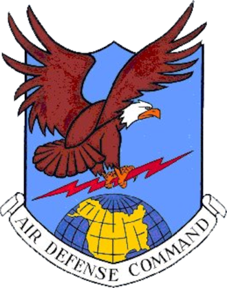 Oxnard Air Force Base - Image: A Ir Defense Command Emblem