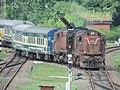 ALCo twins of Howrah in charge of Jorhat Town-Guwahati Janshatabdi Express - Flickr - Dr. Santulan Mahanta (1).jpg