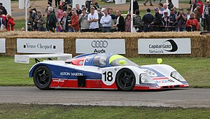 1989 World Sportscar Championship - Aston Martin placed 6th in the Teams Championship with the Aston Martin AMR1