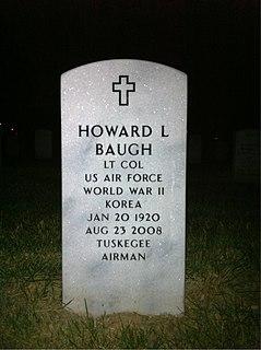 Howard Baugh American Air Force Colonel