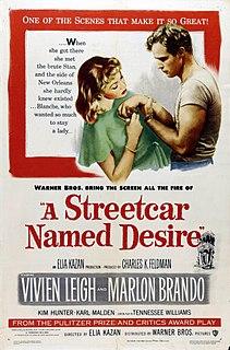 <i>A Streetcar Named Desire</i> (1951 film) 1951 drama movie directed by Elia Kazan