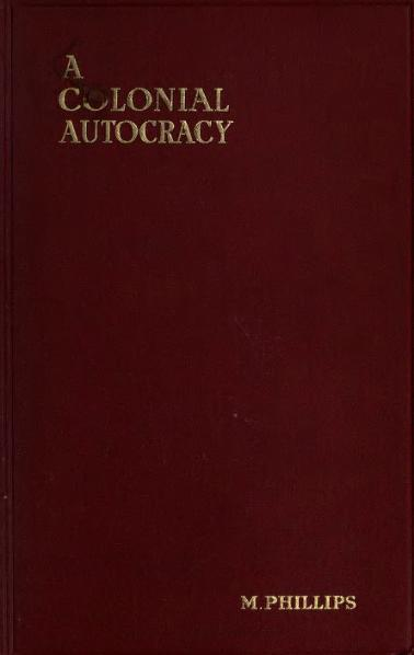 File:A colonial autocracy, New South Wales under Governor Macquarie, 1810-1821.djvu