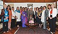 A delegation from the Women's Leadership Board of the Harvard Kennedy School calls on the Speaker, Lok Sabha, Smt. Meira Kumar, in New Delhi on March 14, 2011.jpg