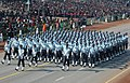 A marching contingent passes through the Rajpath during the full dress rehearsal for the Republic Day Parade-2008, in New Delhi on January 23, 2008.jpg