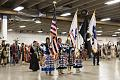 A prayer and presentation of colors at a Colorado Springs Native American Inter Tribal Powwow and festival in that central Colorado city LCCN2015633357.tif