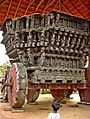 A ratha of chariot in Janapada Loka (Folk art museum).jpg