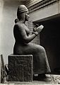 A sculpture of Gula, Sumerian deity of healing Wellcome V0031350ER.jpg