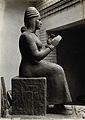 A sculpture of Gula, Sumerian deity of healing Wellcome V0031350ER.jpg