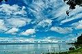 A view from the bank of the river Brahmaputra in Dibrugarh, Assam.jpg
