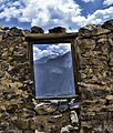A view from the window of Kharpocho fort (skardu fort).JPG