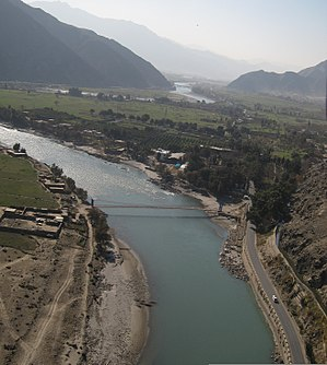 Kunar River - Kunar river in the Kunar valley