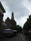 aa-kerk from vismarkt