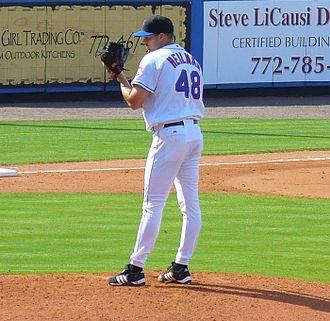 Aaron Heilman - Heilman while with the Mets.
