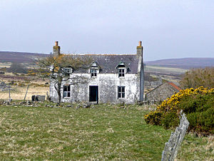 English: Abandoned house If you fancy a challe...