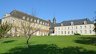 Melleray Abbey abbey located in Loire-Atlantique, in France