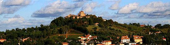 Abbazia di Santa Maria del Monte e le colline