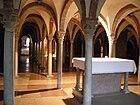 Abbazia di nonantola, interno, cripta 03