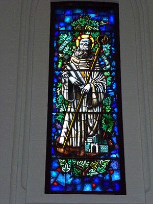 Lilbosch Abbey - Image: Abdij Lilbosch (Echt Susteren) kerk, glasraam 02
