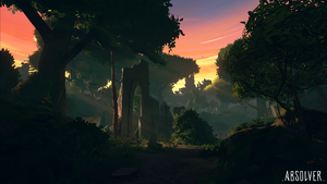Absolver - Critics such as Borque praised the game's art style as a departure from industry trends towards hyperrealism