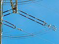 Abspannmast Detail Isolatoren 380kV 20130414.jpg