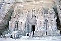 Abu Simbel, Great Temple, 1964.jpg
