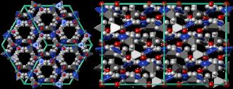 Acetamide - Acetamide crystal structure