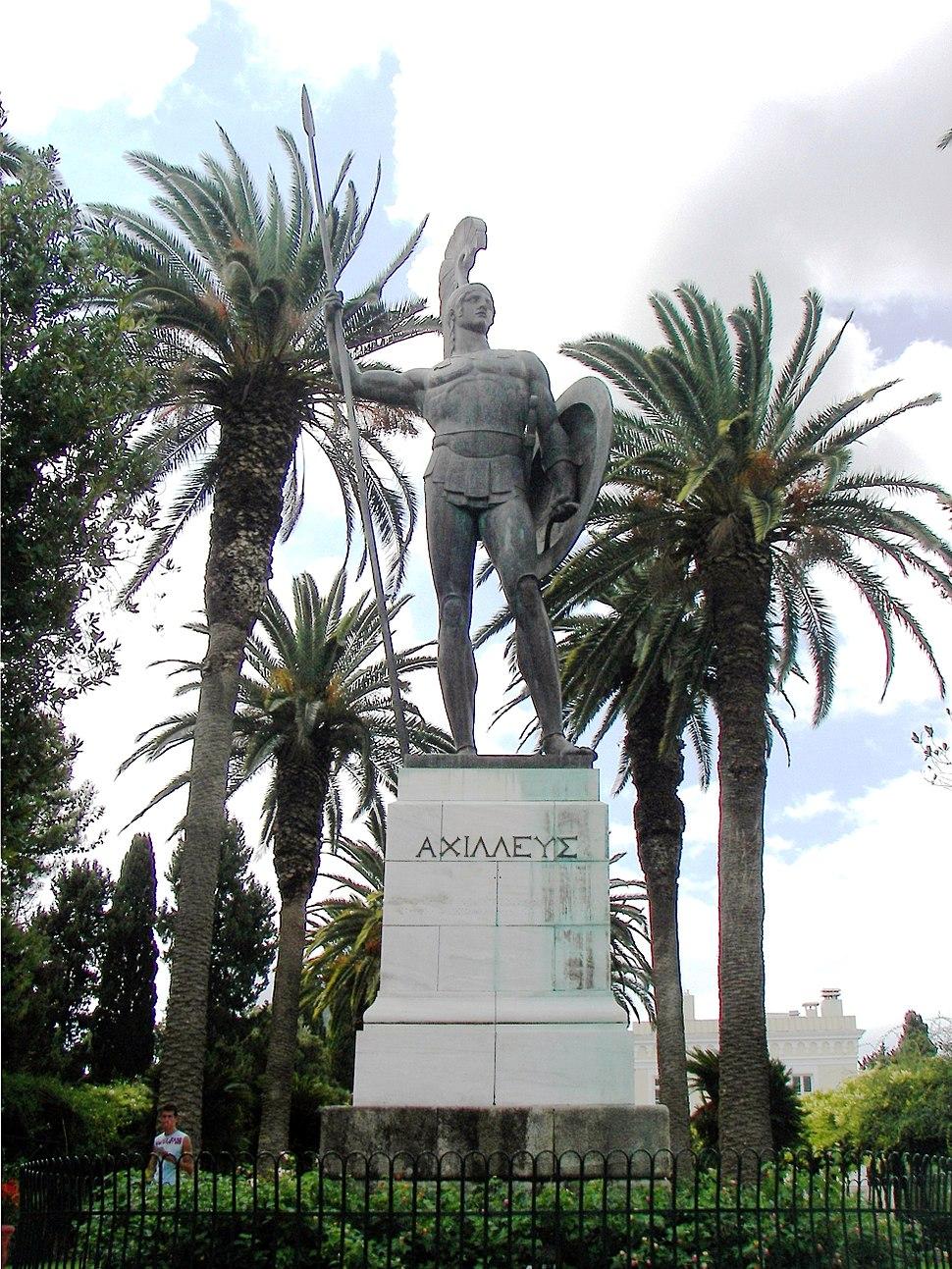Achilles in Corfu