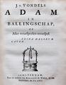 Adam in Ballingschap - Joost van den Vondel.png