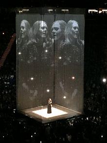 концерт в Лондоне в поддержку альбома «25», 2016