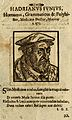 Adrianus Junius (Horna). Woodcut. Wellcome V0003154.jpg