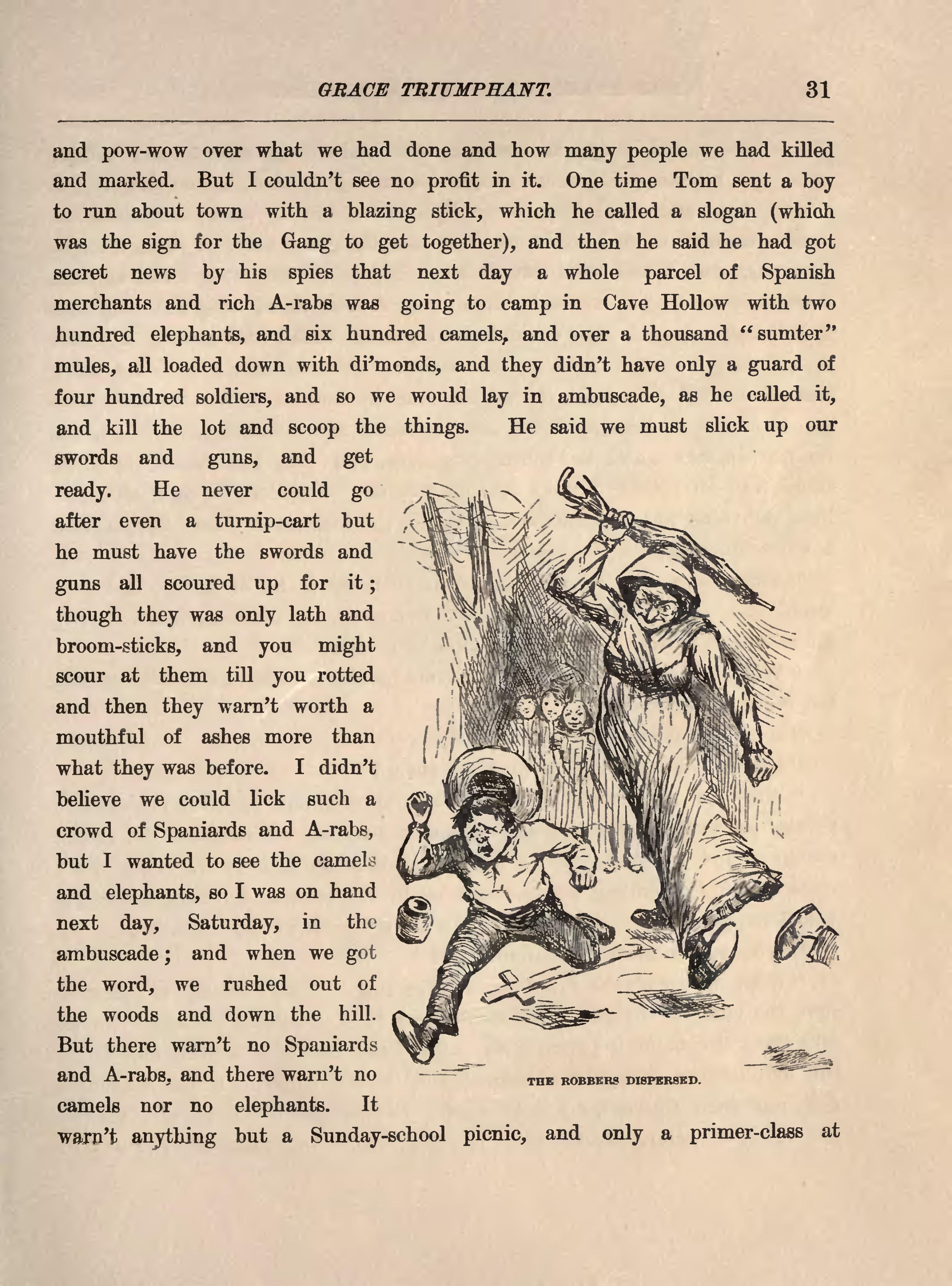 the story as told in the adventures of huckleberry finn by mark twain essay Free essay: comparison of tom sawyer and huck finn in the adventures of tom sawyer and huckleberry finn by mark twain tom sawyer and huck finn were both.