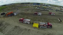 File:Aerial video of Firefighting.webm