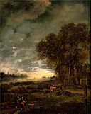 Aert van der Neer, A Landscape with a River at Evening (c. 1650).jpg