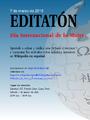 Afiche editatón Wikipedia Perú 2015.png