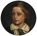After Franz Xaver Winterhalter (1805-73) - Prince Arthur (1848-1942), later Duke of Connaught, when a child - RCIN 405380 - Royal Collection.jpg