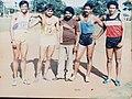 Agartala National 4×400 mtrs Gold Karnataka team.jpg