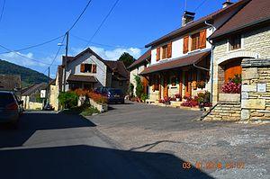 Agey - A street in Agey