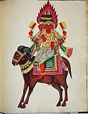 Eléphant et vénération dans ELEPHANT 175px-Agni_god_of_fire