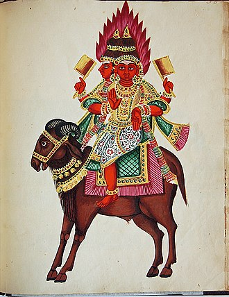 Asura - Image: Agni god of fire