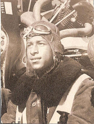 Ahmet Ali Çelikten - Ahmet Ali (Çelikten) with flight cap
