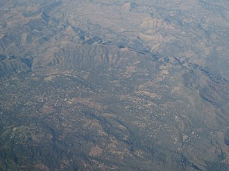 Ahwahnee, California - Aerial view of Ahwahnee