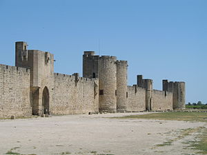 Aigues-Mortes - City walls