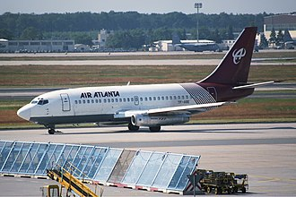 Air Atlanta Icelandic - A former Air Atlanta Icelandic Boeing 737-200