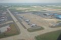 Aircraft Maintenance Area - Aerial View - Indira Gandhi International Airport - New Delhi 2016-08-04 5803.JPG