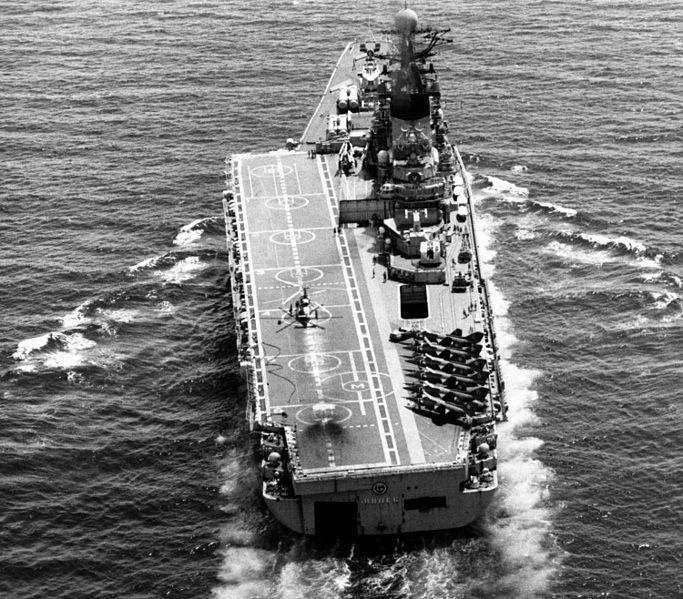 File:Aircraft carrier 'Minsk' in 1985.jpeg