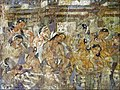 Ajanta Cave 1 Mahajanaka Jataka mural 2.jpg