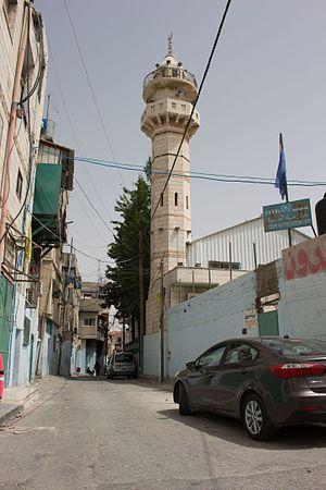 'Azza - Al 'Azza entrance